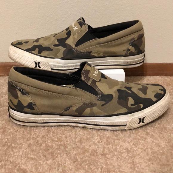 Hurley Shoes | Camo Print Hurley Slip